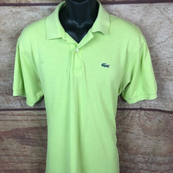 05c0e024f Lacoste Shirts | Polo Light Green Size 6 Large Men | Poshmark